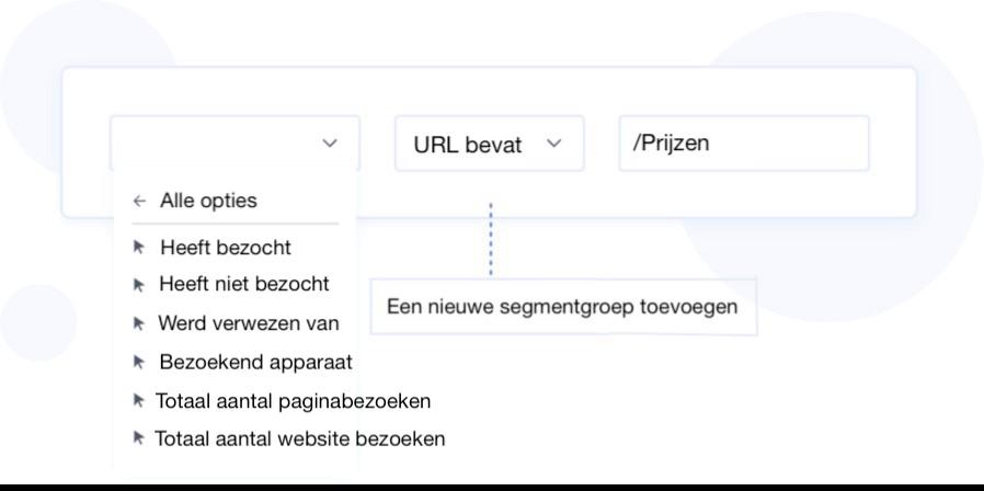 e-mail segmentatie tool