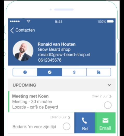 CRM app MailBlue