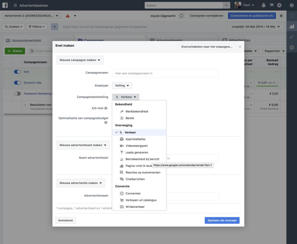 facebook advertentiebeheer