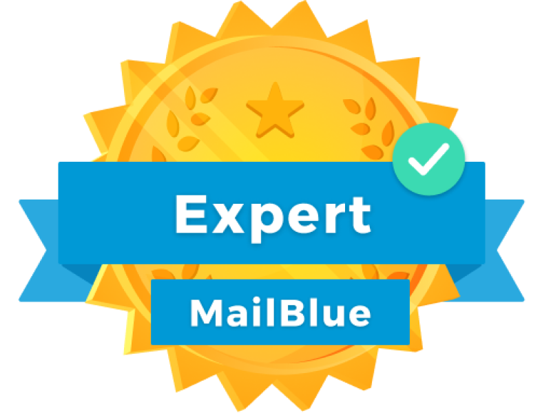 Blue Academy Expert Badge