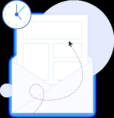 voorspellende verzending mailblue